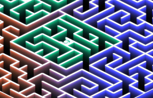 Ball Maze Labyrinth