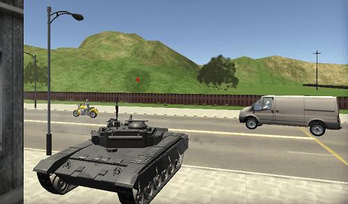 Cars Thief 2: Tank E