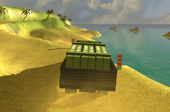 Tropical Truck Delivery 3D
