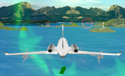 Airplane Simulation: Island Tr