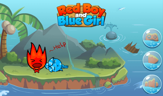 Red Boy And Blue Gir