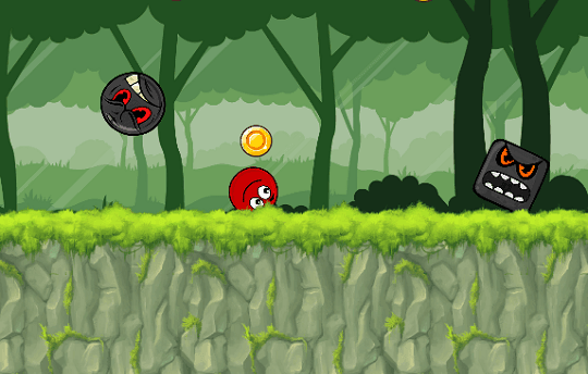 Ball Hero Adventure: Red Bounc
