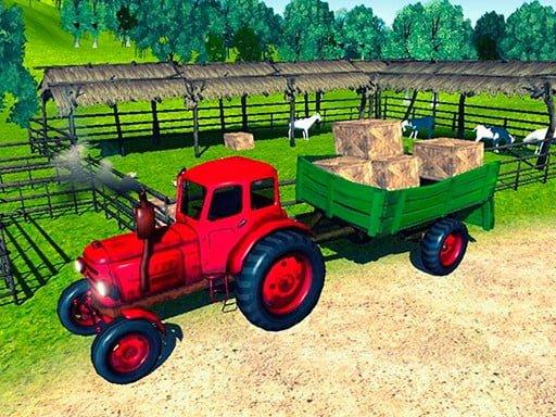 Farmer Tractor Cargo Simulatio