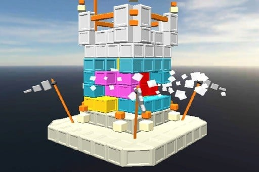 Castle Block Destruc