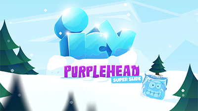 Icy Purple Head Supe
