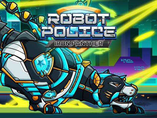 Robot Police Iron Pa