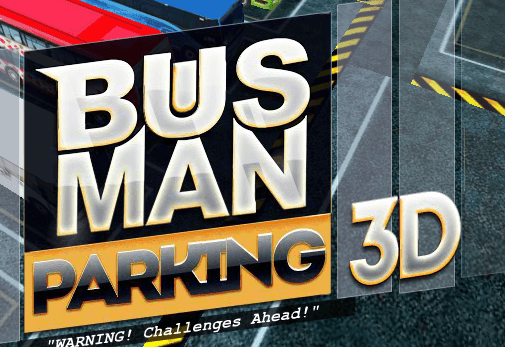 Bus Man Parking 3D