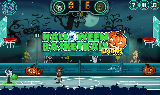 Halloween Basketball