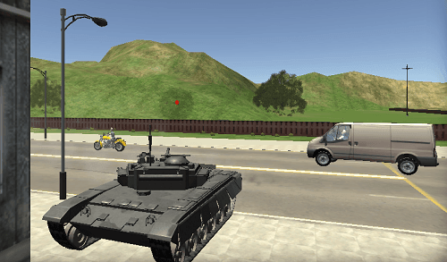 Cars Thief 2: Tank E