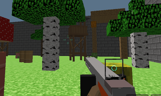 Blocky Gun 3D Warfare
