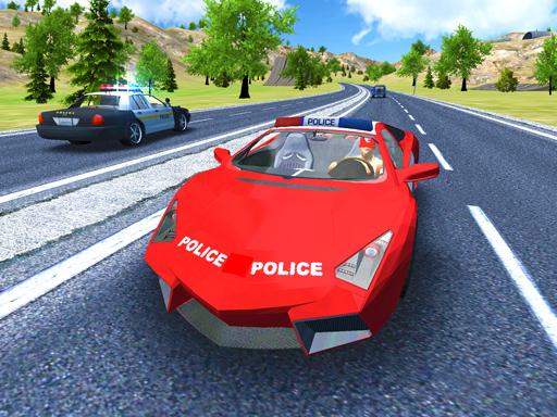 Police Car Stunt Dri
