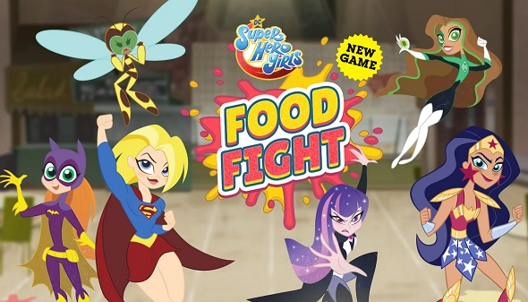 DC Super Hero Girls: Food Figh
