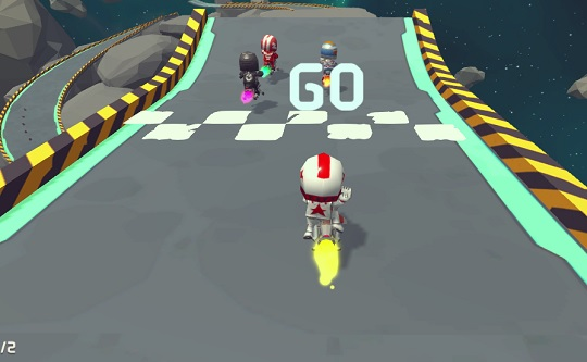 Moto Space Racing: 2