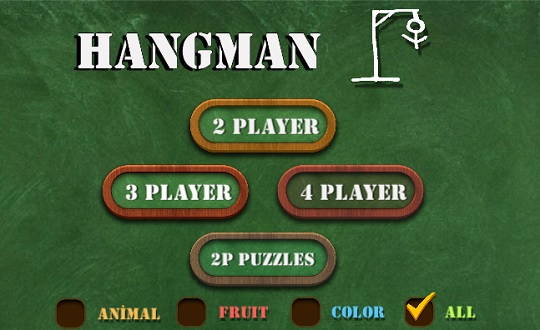 Hangman 2-4 Players