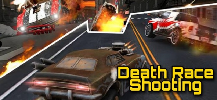 Death Race Shooting Banner