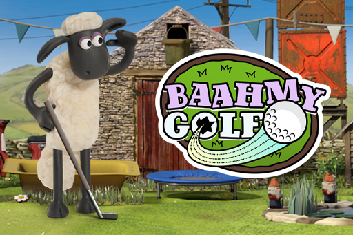 Shaun the Sheep Baah